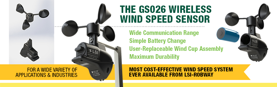 Wind Speed Indicator For Cranes : Lsi gs wind speed in stock for immediate shipment