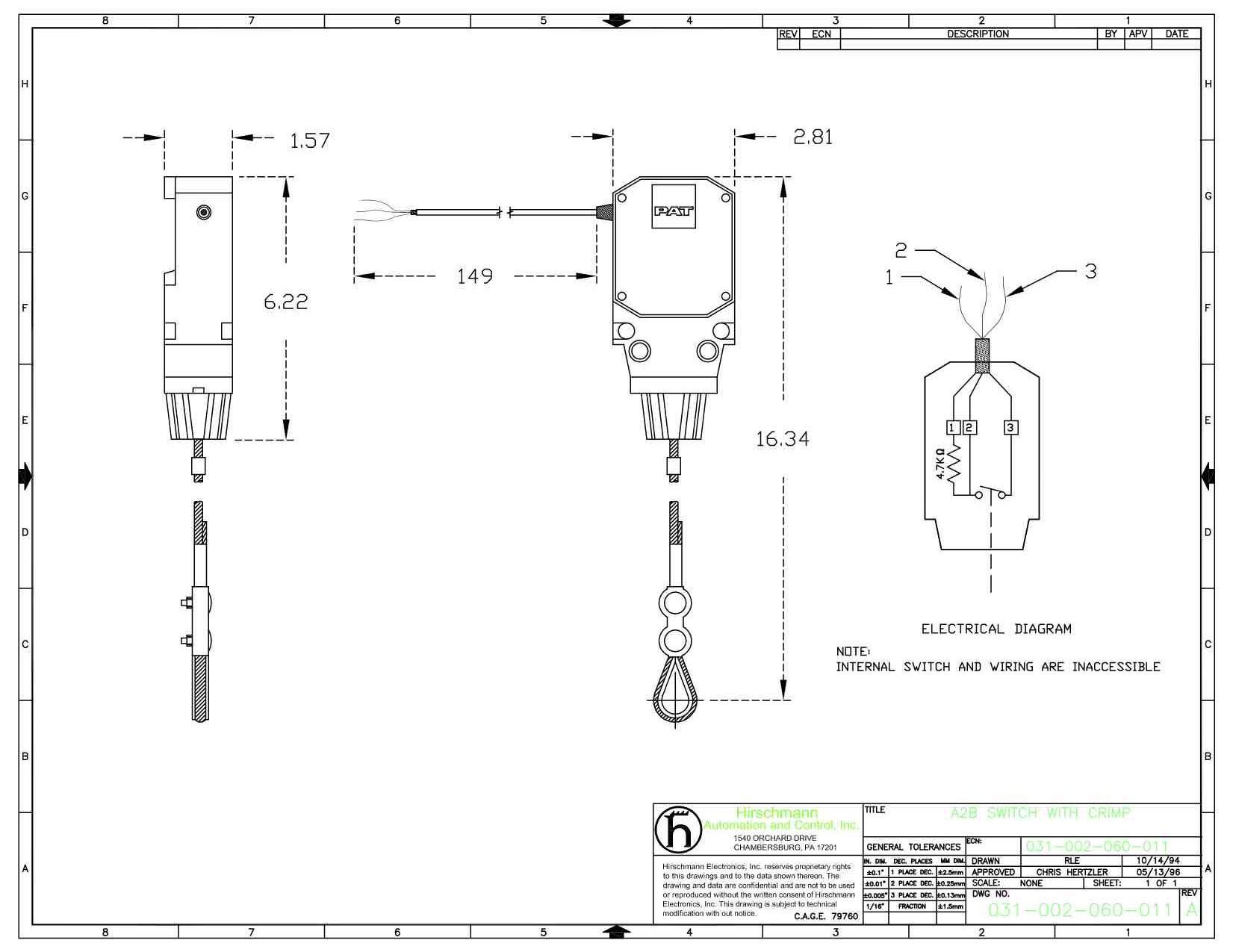 Pat Hirschmann Anti Two Block Switch Schematic