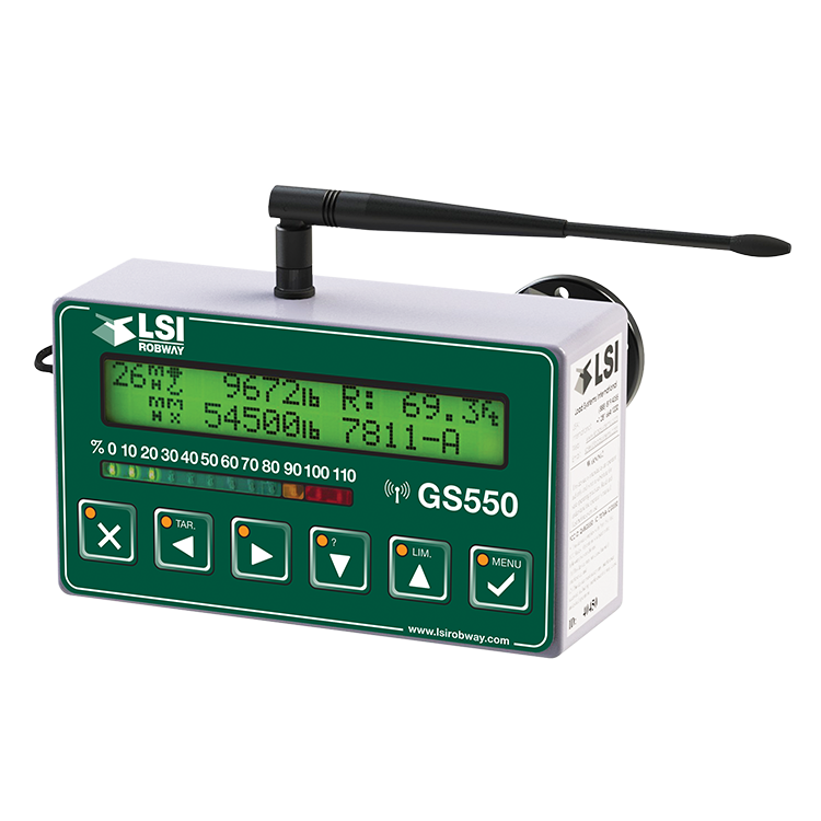 Safe Load Indicator Systems : Gs wireless crane display installation click here