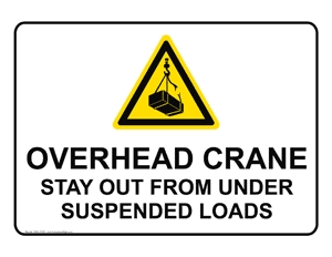 crane safety instructions for overload